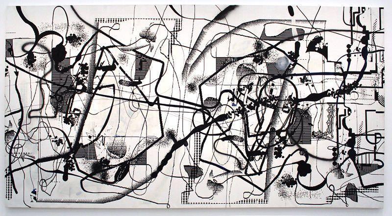 Oehlen_A, »ohne Titel«, 1994