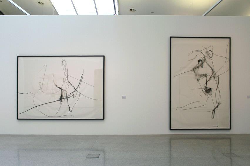 Albert Oehlen, Zeichnungen, Installationsansicht: Alexandra Matzner