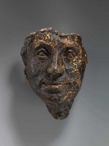 Alberto Giacometti, Tête de la mère [Kopf der Mutter], 1923, Plastilin, 31 x 15 x12 cm (Privatsammlung Schweiz, Foto: André Longchamp © Succession Alberto Giacometti / 2016 ProLitteris, Zürich)