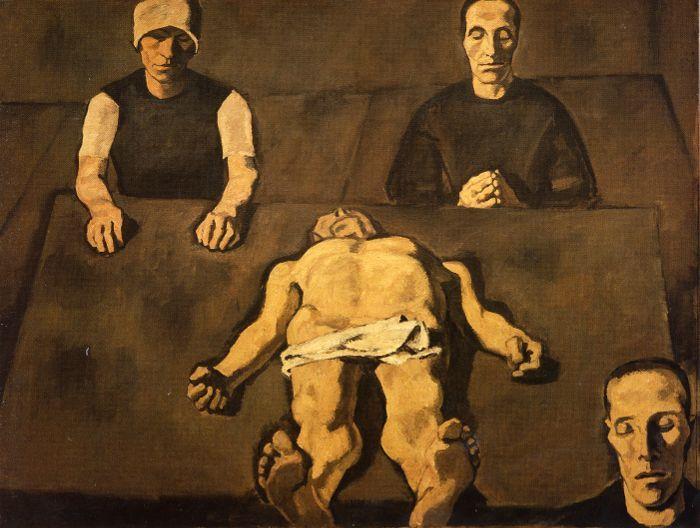 Albin Egger-Lienz, Pietà, 1926, 173 x 231 cm © Leopold Museum, Wien.