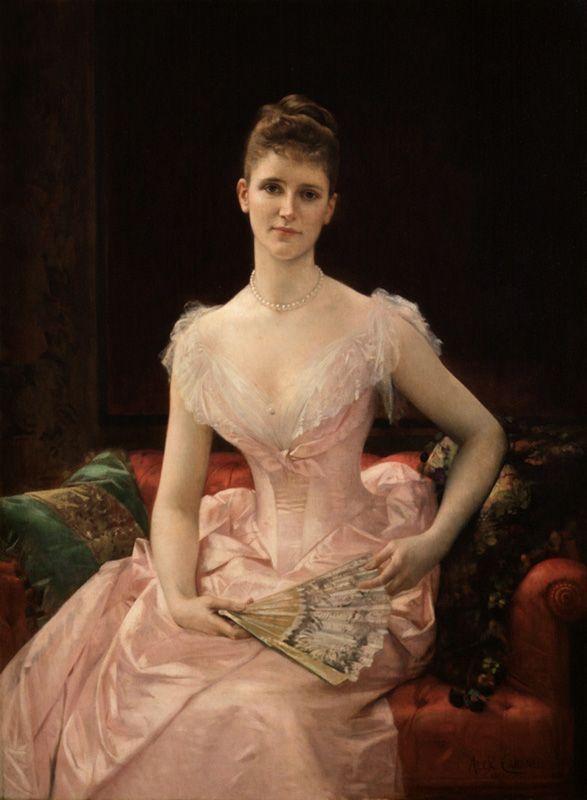 Alexandre Cabanel, Bildnis der Olivia Peyton Murray Cutting, 1887, Öl auf Leinwand (Museum of the City of New York).