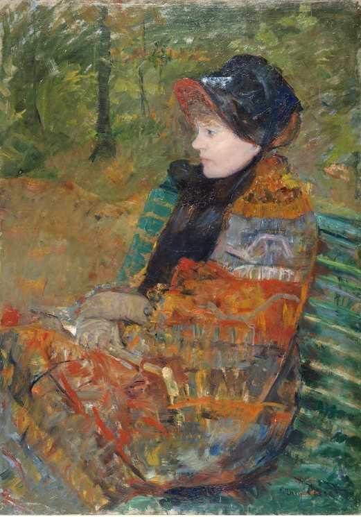 Mary Cassatt, Herbst, 1880, Öl auf Leinwand, 92,5 x 65,6 cm (Musée des Beaux Arts de la Ville de Paris, Petit-Palais, Paris, © Petit Palais, Foto: Roger Viollet).