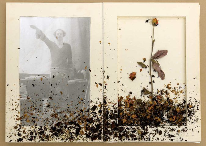 Anselm Kiefer, Für Jean Genet, 1969, Seiten 4–5, Fotograf: Charles Duprat, Paris © Anselm Kiefer.