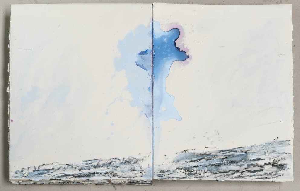 Anselm Kiefer, Die Wolkensäule, 2015, Seiten 18–19, Fotograf: Charles Duprat, Paris © Anselm Kiefer.