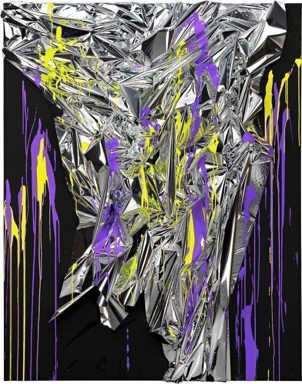 Anselm Reyle, Untitled, 2011.