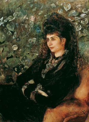 Mathilde Stern, geb. Porges, 1889, 101 x 73 cm (Belvedere).