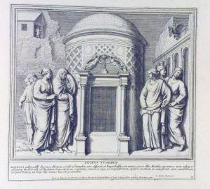 Pietro Santo Bartoli, Admiranda romanarum antiquitatum ac veteris sculpturae vestigia [...], Rom o. J., Tav. 79 (URL: http://biblio.signum.sns.it/bellori//TOC_1.html, letzter Aufruf 4.7.2013).