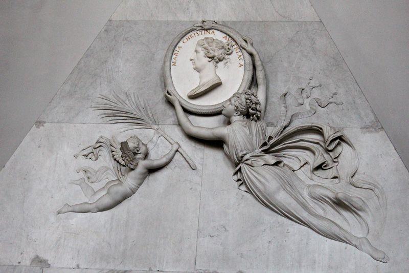 Antonio Canova, Grabmal für Erzherzogin Marie Christine von Sachsen-Teschen, 1800-1805, Foto: Alexandra Matzner.
