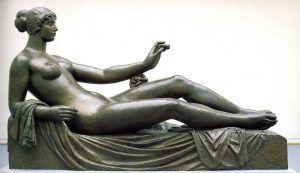 Aristide Maillol, Cézanne-Denkmal, 1907–1925, Bronze