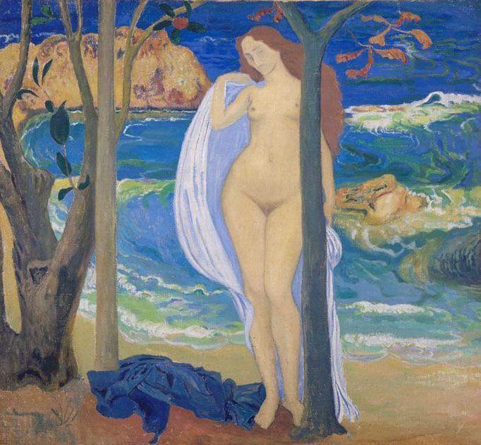 Aristide Maillol, Côte d'Azur, um 1898, Öl auf Leinwand (Musée du Petit Palais, Paris)