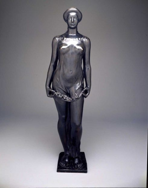 Aristide Maillol, Flora, 1911, 165,1 x 48,26 cm (Dallas Museum of Art)