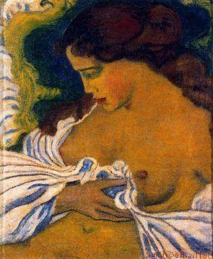 Aristide Maillol, Die Frau in der Woge, 1895, Öl auf Leinwand (Privatbesitz)