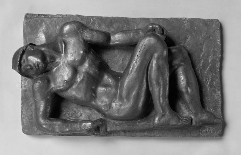 Aristide Maillol, Gefallener Krieger, 1925–1932 (Princeton University Art Museum)