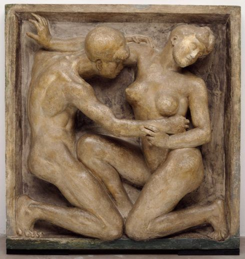Aristide Maillol, Le Desir, 1906–1908, 119 x 114,3 cm (Museum of Modern Art, New York)