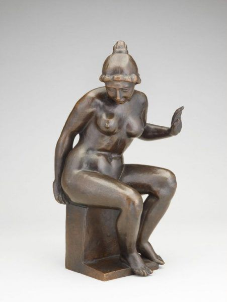 Aristide Maillol, Leda, um 1902 (Art Institute Chicago)