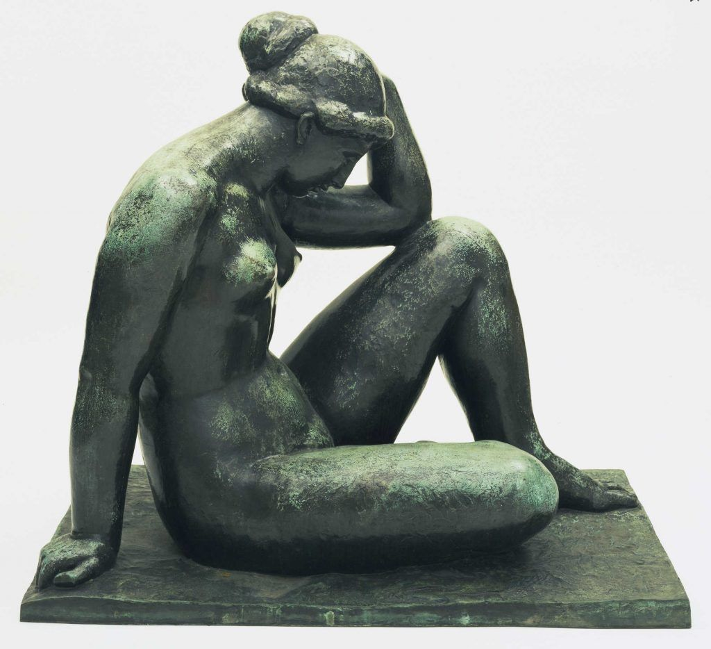 Aristide Maillol, Méditerranée, 1902–1905, 104 x 114,3 cm (Museum of Modern Art, New York)
