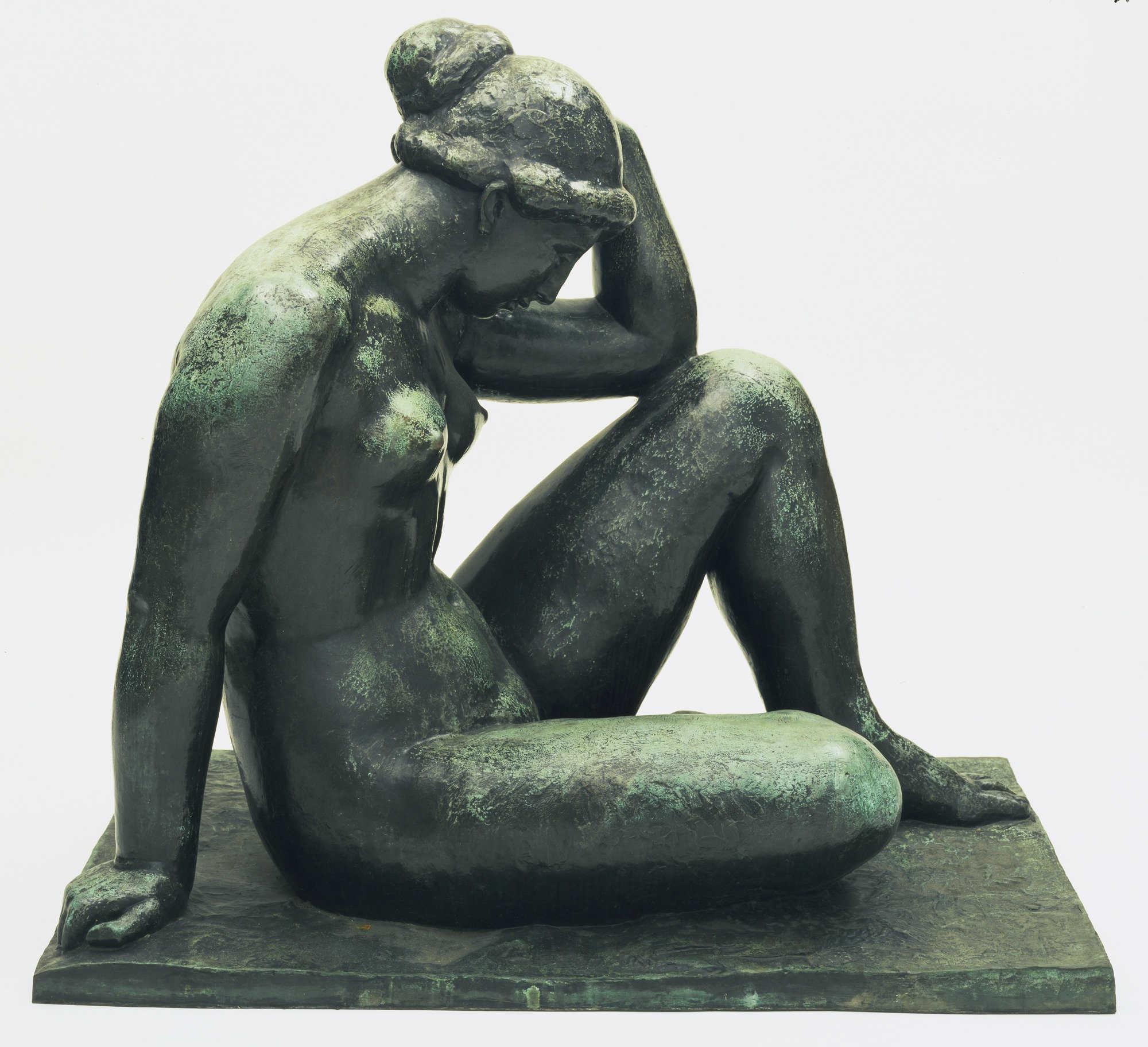 Aristide Maillol, Méditerranée, 1902–1905, 104 x 114,3 cm (Museum of Modern Art, New York)