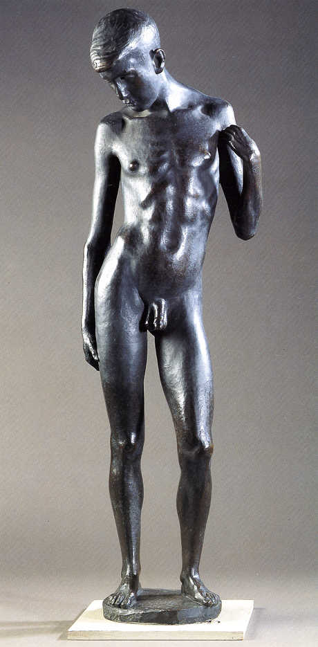 Aristide Maillol, Radfahrer, 1907/08, Bronze