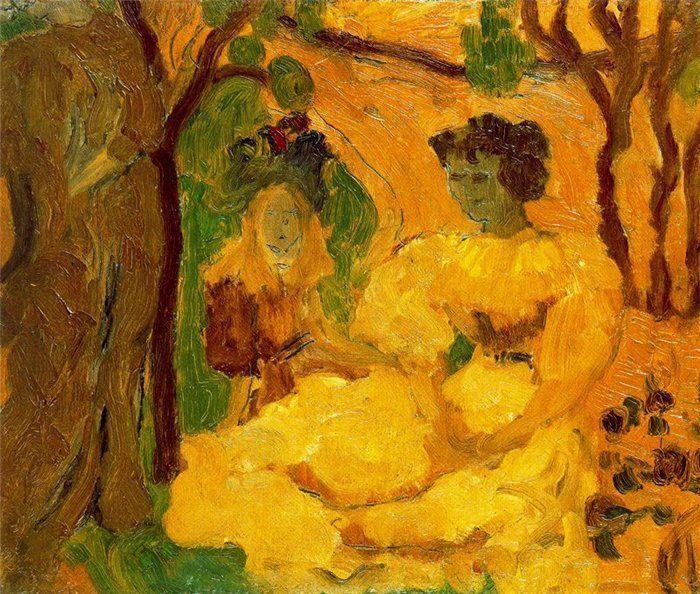 Aristide Maillol, Tapisseriekarton, 1894