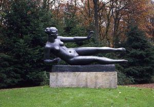 Aristide Maillol, Die Luft, Guss von 1962, 177 x 239 cm (Kröller-Müller Museum, Otterloo)