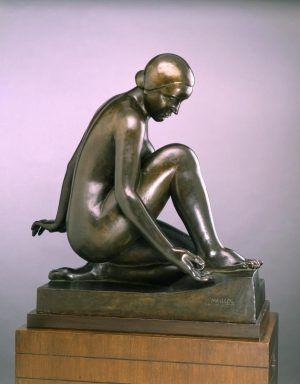 Aristide Maillol, Monument für Debussy, 1931 (Ohio, Toledo Museum of Art)