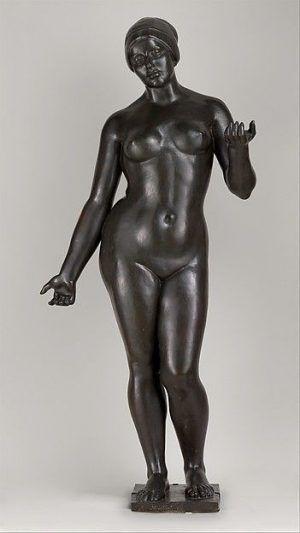 Aristide Maillol, Sommer, 1911 modelliert und gegossen, 161,3 x 71,1 x 45,7 cm (Metropolitan Museum, New York)
