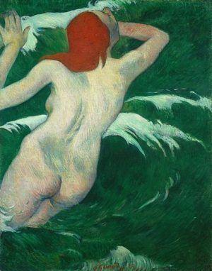 Paul Gauguin, In den Wellen (Undine), 1889 (Cleveland Museum)