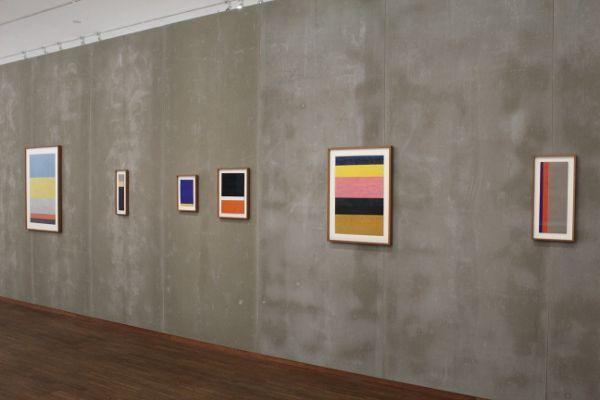 Arnulf Rainer, Proportionsanordnung, Ausstellungsansicht Albertina, Foto: Alexandra Matzner.