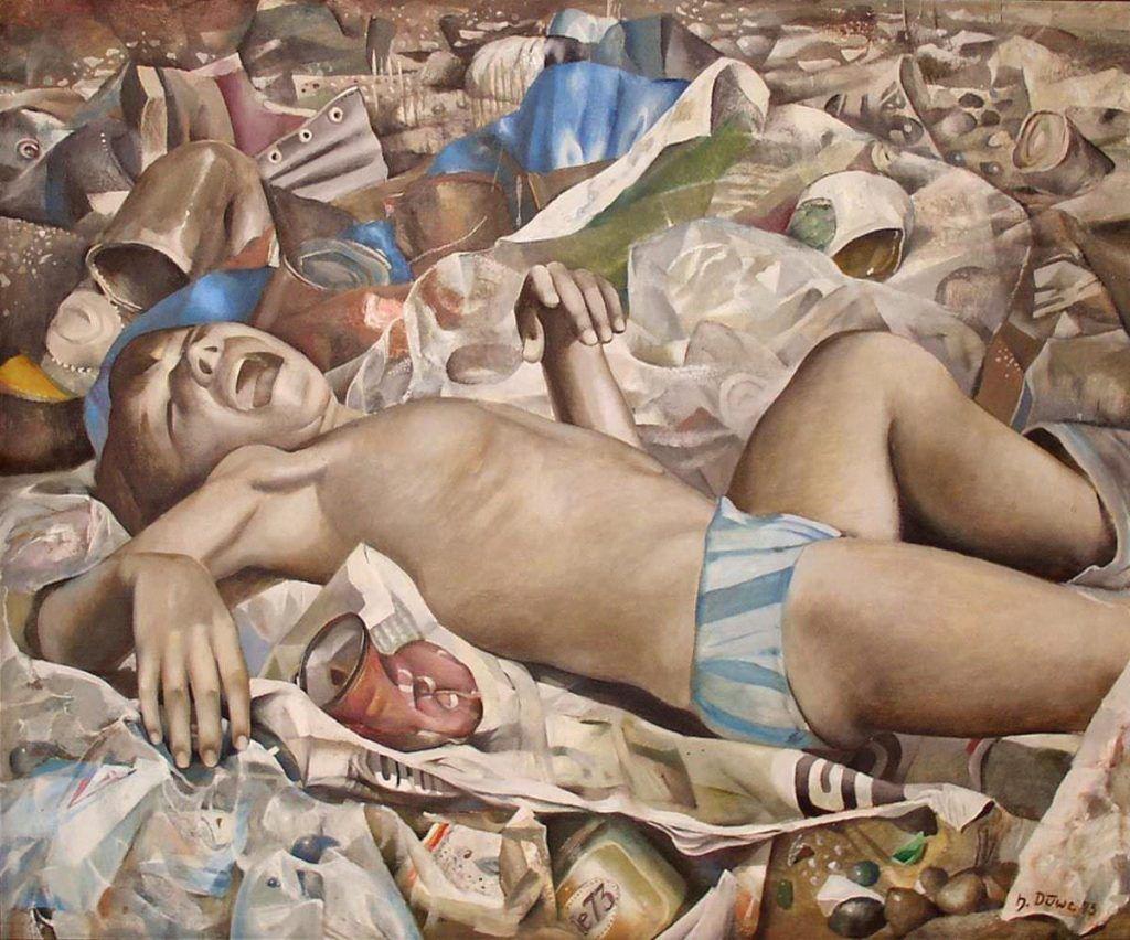 Harald Duwe, Ein Platz an der Sonne, 1973, courtesy Galerie Poll, Berlin.