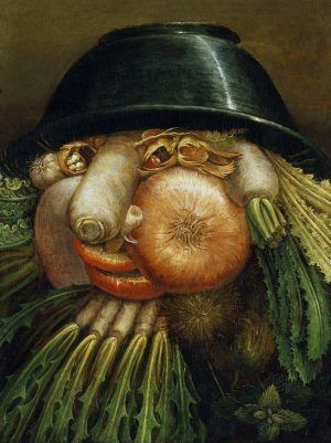 Giuseppe Arcimboldo, Der Gemüsegärtner, Museo Civico »Ala Ponzone«, Cremona.