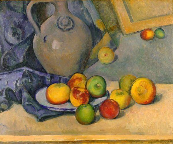 Paul Cézanne, Steingutkrug, 1893/94, Fondation Beyeler, Riehen/Basel © Foto: Peter Schibli, Basel.