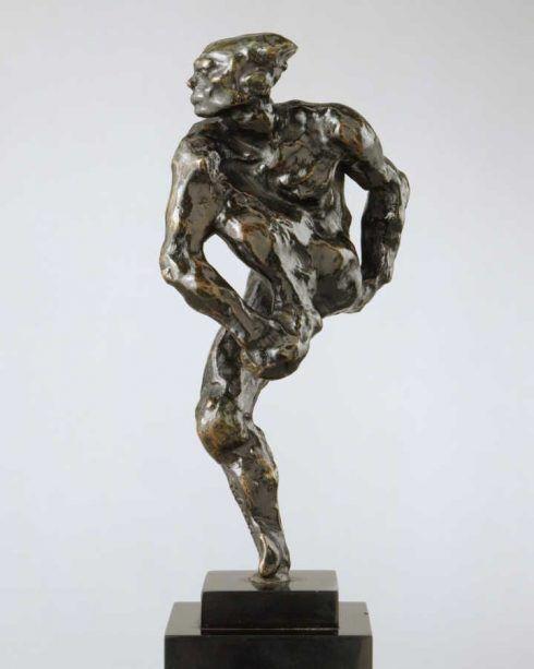 Auguste Rodin, Nijinsky, modelliert 1912, gegossen 1959, Höhe ohne Basis 24,8 cm (Metropolitan Museum of Art, New York)