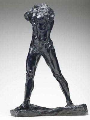 Auguste Rodin, Schreitender (L'Homme qui marche), 1899, Bronze, 84,5 x 59,5 x 26,5 cm (Musée Rodin, Paris)