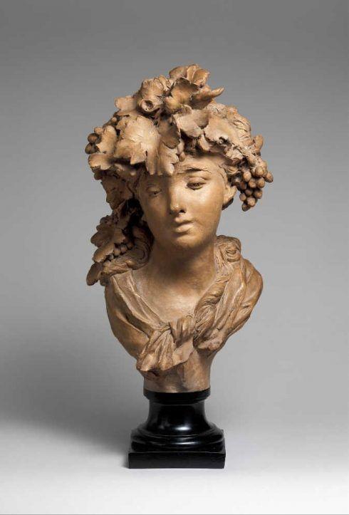 Auguste Rodin, Bacchantin (Wein oder Herbst), um 1874, 39,4 x 22,5 x 23,8 cm (Metropolitan Museum of Art, New York)