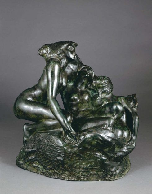 Auguste Rodin, Drei Sirenen, 1888 (Washington, D.C., District of Columbia, The National Gallery of Art)