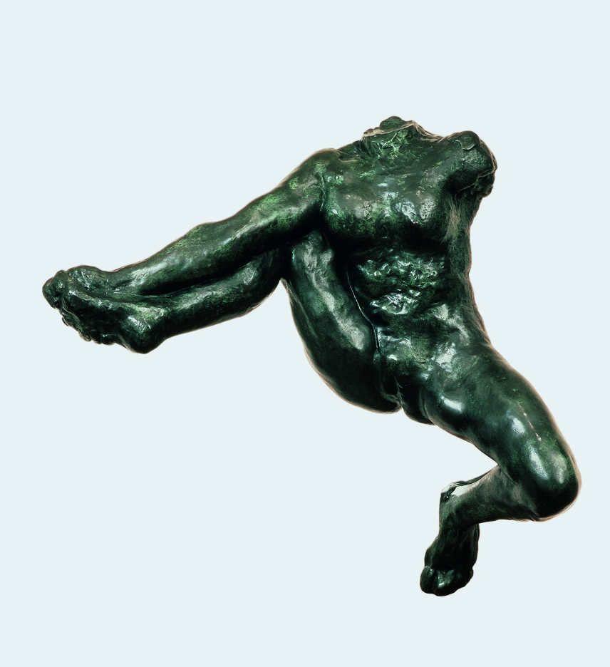 Auguste Rodin, Iris, Götterbotin (Fliegende Gestalt), um 1890--91, Bronze, 83,3 x 87 x 36 cm (Fondation Beyeler, Basel/Riehen)