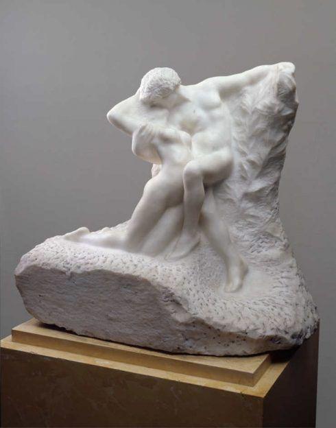 Auguste Rodin, Ewiger Frühling, nach 1897, Marmor, Höhe 77 cm (State Hermitage Museum, St. Petersburg)