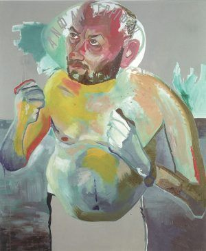 Martin Kippenberger, Ohne Titel, 1992, Öl auf Leinwand, Friedrich Christian Flick Collection © Estate Martin Kippenberger, Galerie Gisela Capitain Cologne.