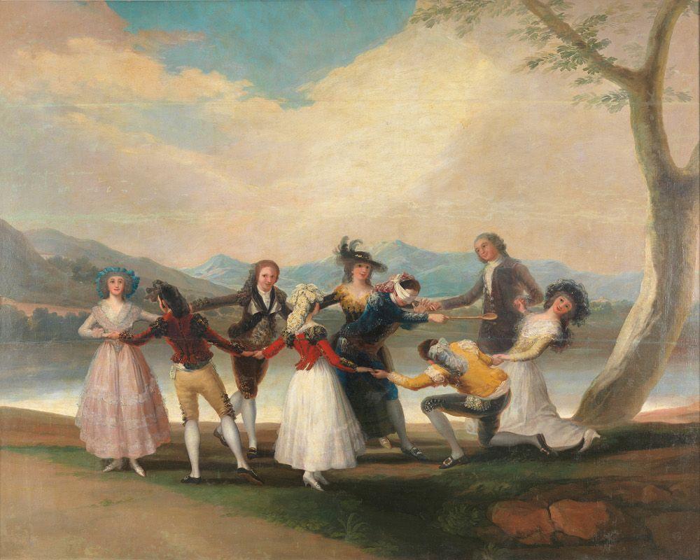 Francisco de Goya, Blindekuhspiel (Prado)