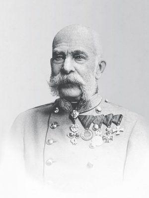 Franz Joseph, historische Fotografie, nach 1900 © Schloß Schönbrunn Kultur- und Betriebsges.m.b.H..