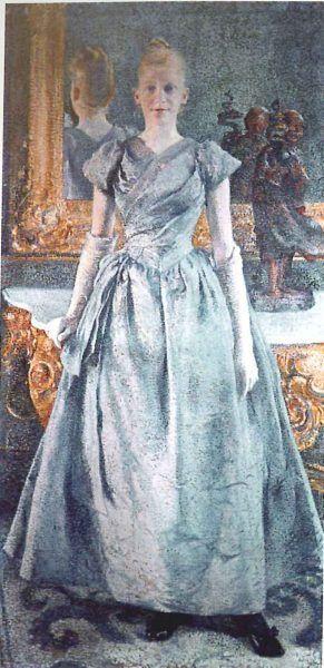 Théo van Rysselberghe, Mademoiselle Alice Sèthe, 1888, Saint-Germain-en-Laye, Musée départemental du Prieuré.