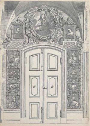 Anton Joseph von Prenner, Theatrum artis pictoriae, 1728–1733 Wien, Erste Wand (Privatsammlung), Foto: Alexandra Matzner.