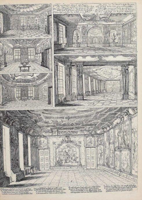 Einblick in die Stallburggalerie, in: Anton Joseph von Prenner, Prodromus, 1735 Wien (Privatsammlung), Foto: Alexandra Matzner