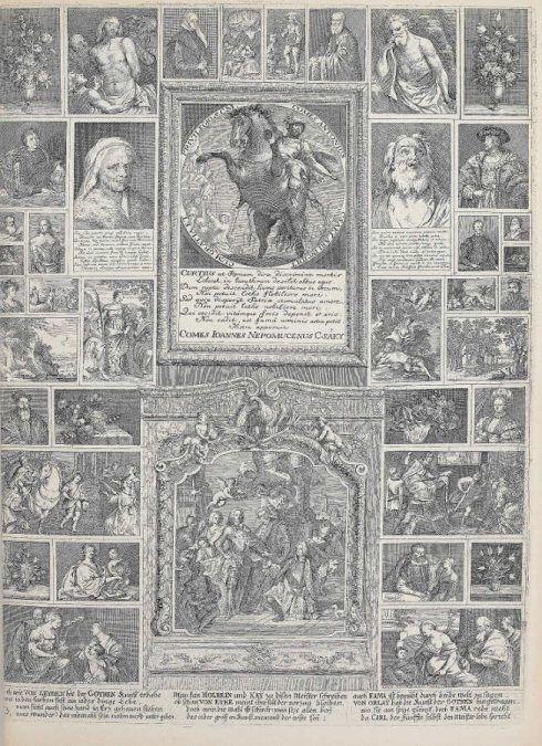 Solimena, in: Anton Joseph von Prenner, Prodromus, 1735 Wien (Privatsammlung), Foto: Alexandra Matzner.