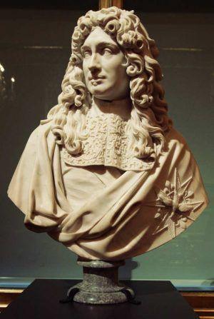 Antoine Coysevox, Jean-Baptiste Colbert, um 1677, Marmor (Musée du Louvre, Paris, Département des Sculptures), Foto: Alexandra Matzner.