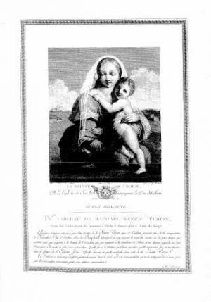 Jacques Couché, Galerie du Palais Royal, 1786–1808, Raffael (BNF, Foto: © Gallica)