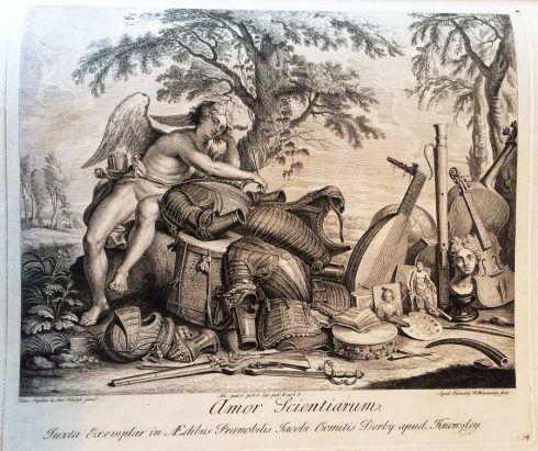 Hamlet Winstanley nach Boschardt, in: Die Galerie des Earl of Derby, Knowsley Hall, nach 1729 (Privatbesitz), Foto: Alexandra Matzner.