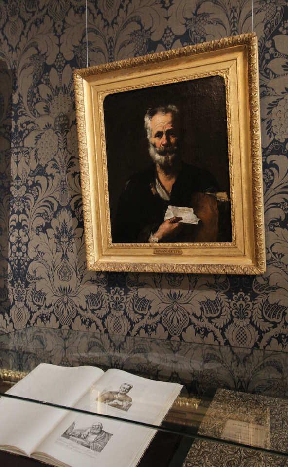 Juspe de Ribera, Alter Mann, um 1640, Öl auf Leinwand (Privatbesitz), Foto: Alexandra Matzner.