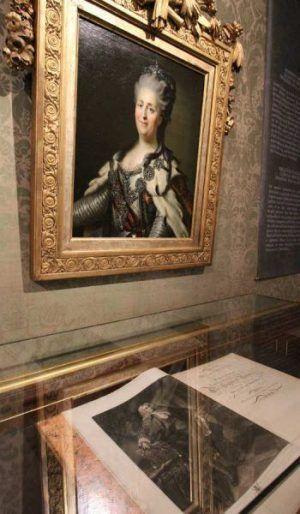 Katharina II. von Russland, um 1780, Öl auf Leinwand (Kunsthistorisches Museum) Foto: Alexandra Matzner.
