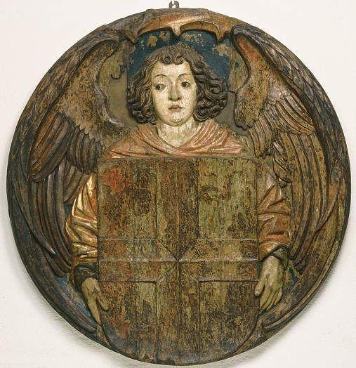 Hans Wydyz, Schlusssteindeckel vom Freiburger Münster, 1510, Foto: Hans-Peter Vieser.